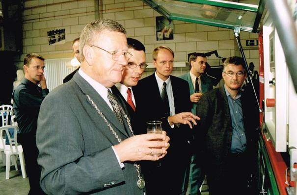 Bezoek Burgemeester VARIODRIVE